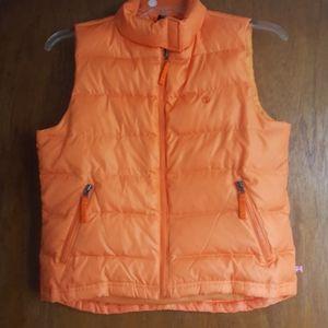Orange duck head jeans company vest down filler